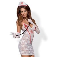 Костюм на медицинска сестра OBSESSIVE S/M