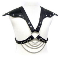 LEATHER BODY WITH SHOULDER WINGS
