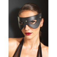 LEG AVENUE FAUX LEATHER FANTASY CAT EYE MASK