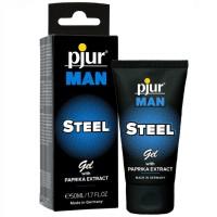 PJUR -MAN STEEL GEL 50 ML