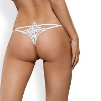 Бельо OBSESSIVE LUIZA THONG WHITE  S/M