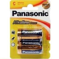 PANASONIC BRONZE BATTERY C LR14 2 UNITS