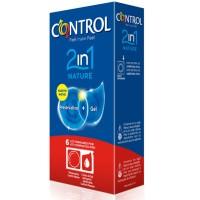 CONTROL DUO NATURA 2-1 PRESERVATIVO + GEL