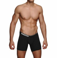 MACHO - MC087 LARGE BOXER BLACK SIZE M
