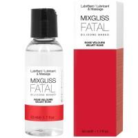 Лубрикант MIXGLISS FATAL SILICONE LUBRICANT VELVET ROSE 50 ML