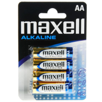 MAXELL BATTERY  AA LR6 BLISTER*4 EU