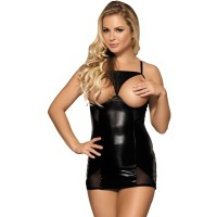 SUBBLIME FETISH UNCOVERED BREAST DRESS S/M