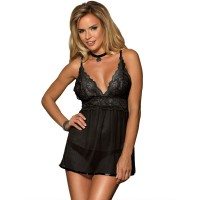 SUBBLIME BREAST LACE BABYDOLL S/M