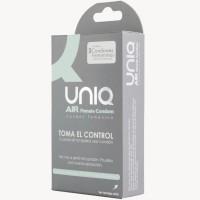 UNIQ AIR FEMALE CONDOM  3 UNITS