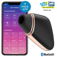 SATISFYER CONNECT - LOVE TRIANGLE BLACK