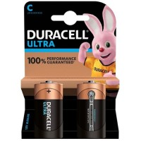 DURACELL ULTRA POWER BATTERY ALCALINA C LR14 2 UNITS
