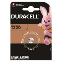 DURACELL BATTERY  BOTON LITIO CR1220 3V 1UNIT