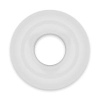 POWERING SUPER FLEXIBLE RESISTANT RING  4.5CM CLEAR