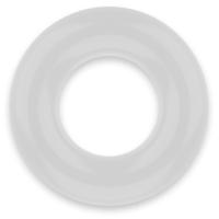 POWERING SUPER FLEXIBLE RESISTANT RING  3.8CM PR04 CLEAR