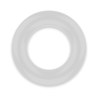 POWERING SUPER FLEXIBLE RESISTANT RING  4.8CM PR05 CLEAR