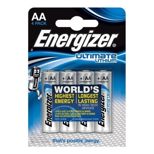 ENERGIZER ULTIMATE LITHIUM AA L91 LR6 1,5V *4
