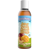 VINCE & MICHAEL'S   PROFESSIONAL MASSAGE OIL  JUICY PEACH SWEET MANG  150ML