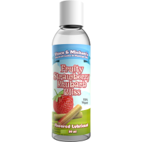 VINCEN & MICHAEL'S   PROFESSIONAL LUBE STRAWBERRY WITH  RHUBARB 50ML