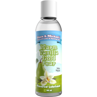 VINCE & MICHAEL'S   PROFESSIONAL LUBE INTENSE WARM VANILLA GOLD PEAR  50ML