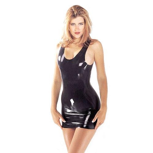 Латексова мини секси рокличка 118.32