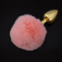Dolce Piccante Jewellery Plug With Tail - Small Pink