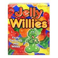 Забавни желирани бонбони във формата на пенисчета